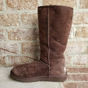 UGG Tall Brown Suede Boots